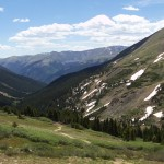 View from the Continental Divide Trail