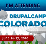 I'm attending DrupalCamp Colorado!