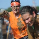 Ann entering the mudpit