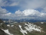 From the peak of Mt. Evans, a 14er