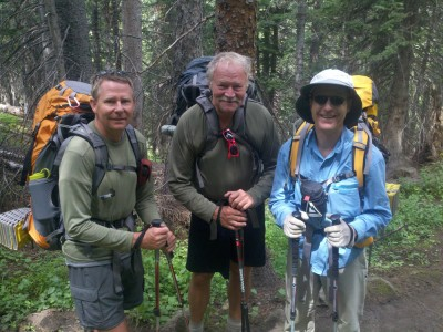 Executive Director of the Colorado Trail Foundation on the right.