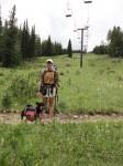 Passing through Copper Mountain Ski Resort