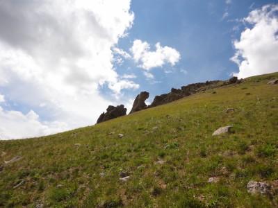 Odd rock formations