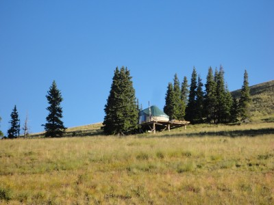 The Colorado Trail Yurt
