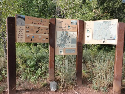 The southern terminus of the Colorado Trail